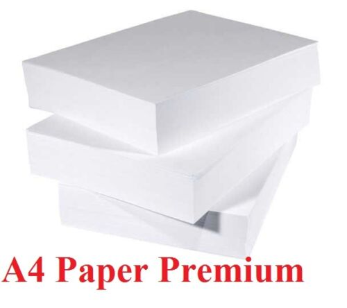 A4 Printing Paper 80GSM High Speed Printing Paper 2500 Sheets New 5 x Reams