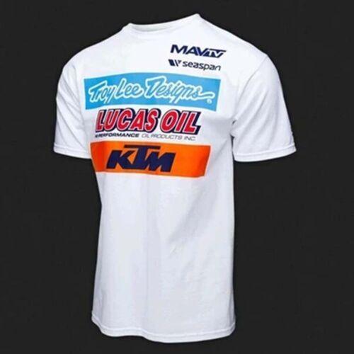 KTM T-Shirt Team Motocross MX Motorbikes Racing Men/'s Sports Clothing Downhill