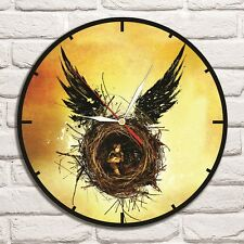 Reloj De Pared Harry Potter Color Vinyl Record De Diseño Hogar Tienda Oficina Coleccionista 2