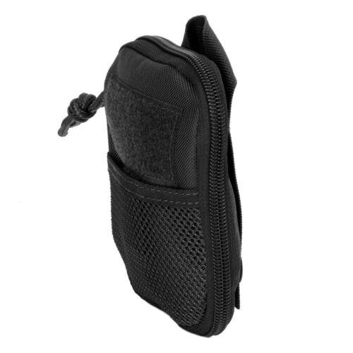 3 V Gear EDC COMPACT poche organisateur noir Molle Étui de ceinture Garantie à vie