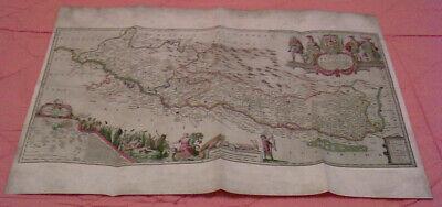 Badische Territorien Am Oberrhein Mitte Des 17. Jahrhunderts - Replikat Gute WäRmeerhaltung