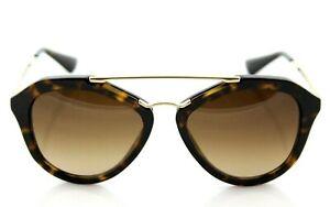71277e6931 Image is loading RARE-Genuine-PRADA-CINEMA-Catwalk-Tortoise-Gold-Sunglasses-