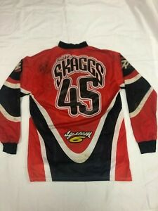 VINTAGE-Robbie-Skaggs-45-Motocross-Jersey-Thom-Veety-Collection-AHRMA
