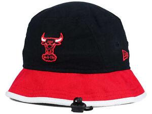 09b63984256 Chicago Bulls New Era NBA HWC Black-Top Bucket Hat Cap Classic Red ...