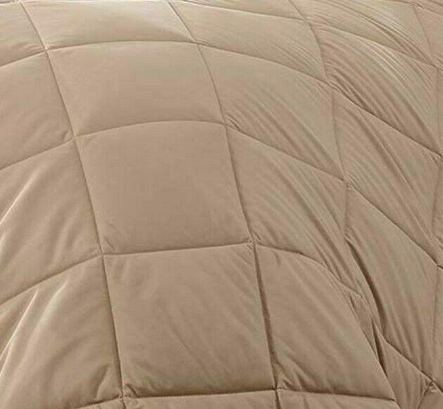 Beige Colour 1800 number Ultra Soft Lightweight Reversible Microfibre Duvet