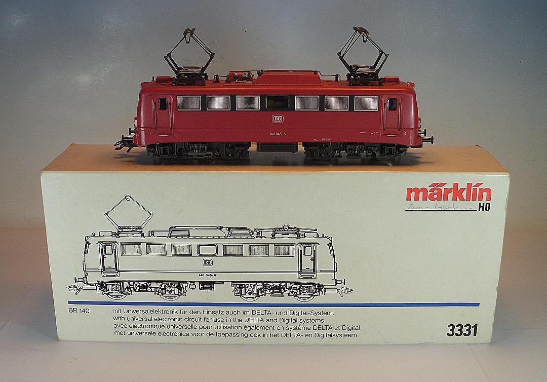 Märklin H0 3321 E-Lok Baureihe 140 045-6 der DB 2 Delta   Digital OVP