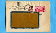 1947 AVV.REPUBBLICA £.10 + DEM.£.2 ann.di Agenzia PT  TORINO / FIAT  (243536)