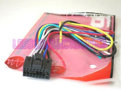 New - Dual / Eonon / Boss Audio 16 Pin Car Stereo Wiring / Wire Harness  Plug | eBayeBay