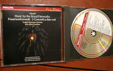 HANDEL music for the Royal fireworks+Concerti a 2 cori No. 2  & 3 -CD- PHILIPS