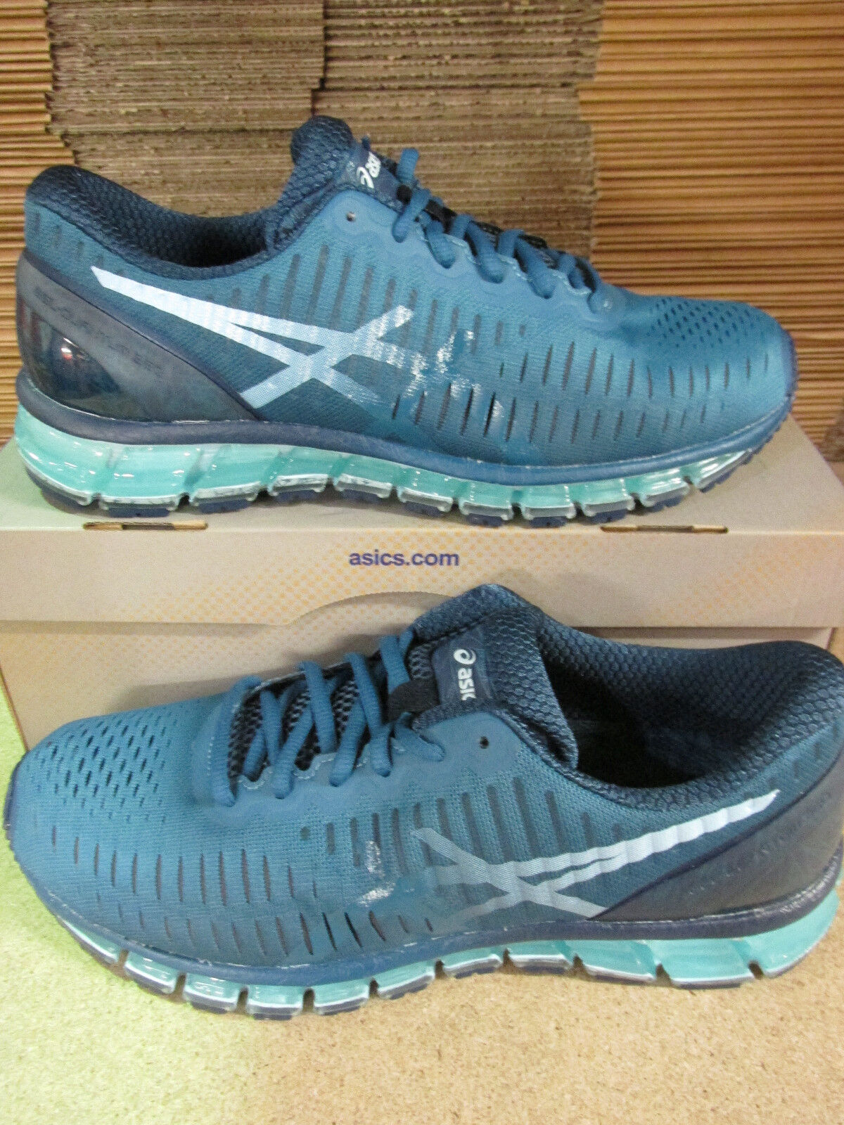 Asics Gel-Quantum 360 Uomo trainers T5J1N 6140 sneaker shoes shoes shoes 6ab6ae