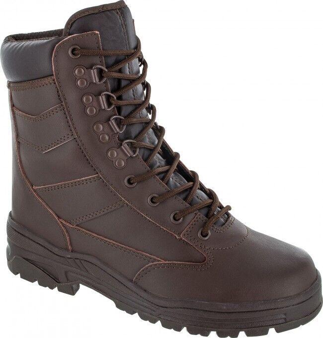 Full Leder Leder Full Military Style Delta Stiefel Youth 3e77c9