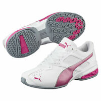 PUMA Tazon 6 FM Women's Running Sneakers (White/Fuchsia)