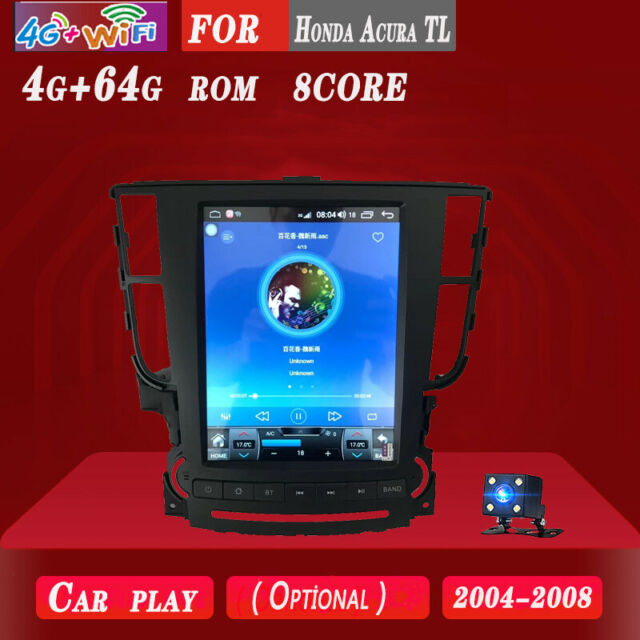 4+64G Car DVD GPS Navigation Radio Stereo Android 8.1 For