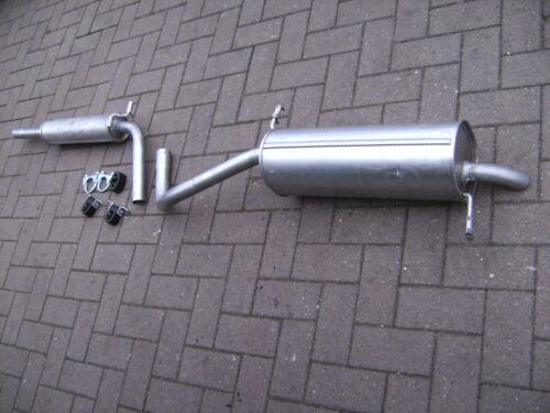 Auspuff Mittel//Endschalldämpfer für Seat Ibiza IV Skoda Fabia 6Y2 W Polo 9N 1,2