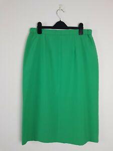 VINTAGE-Parry-Joseph-AUSTRALIA-Green-Pencil-Midi-Corporate-Skirt-Women-039-s-Size-14