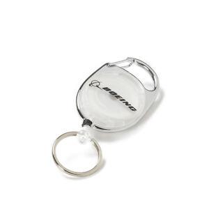 Boeing Carabiner Retractable Keychain
