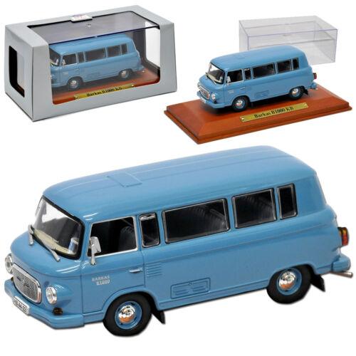 Barkas b1000 KB perché Transporter Blu 1961-1990 DDR 1//43 Atlas modello auto...