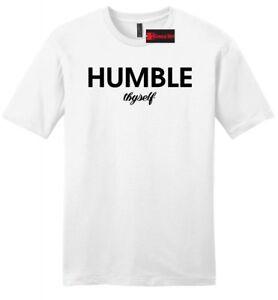 Humble-Thyself-Mens-Soft-T-Shirt-Religious-Inspirational-Yogi-Gift-Tee-Shirt-Z2