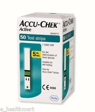 Accu-Chek 50 Test Strips with 1 Code Chip Exp - Jan 2018
