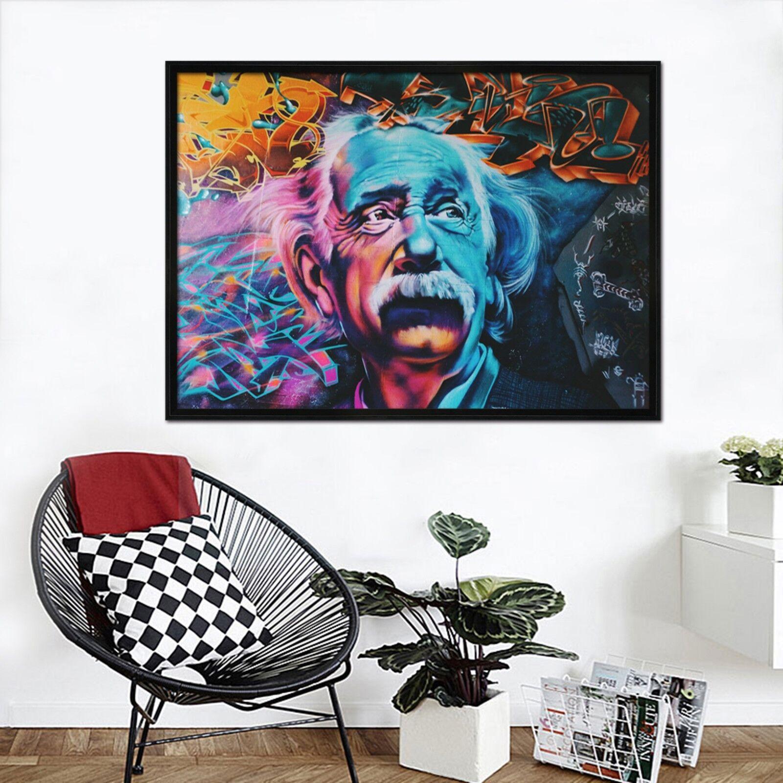 3D Weiß Beard 6 Framed Poster Home Decor Print Painting Art AJ WALLPAPER