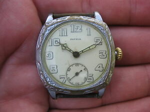 Patria-Omega-WWI-Era-Mens-Mechanical-Watch-Serviced-trench-military-antique