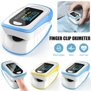 Fingertip pulse SpO2 Oximeter Blood Oxygen Saturation Meter Finger Blood Monitor