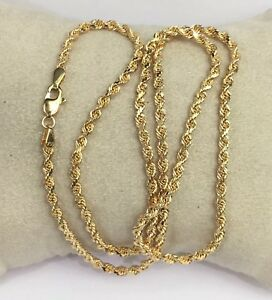 18k-Solid-Yellow-Gold-Italian-Rope-Chain-Necklace-20-8-80-Grams
