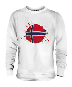 NORWAY-FOOTBALL-UNISEX-SWEATER-TOP-GIFT-WORLD-CUP-SPORT