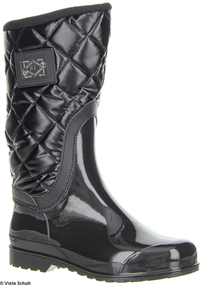 JCL 32-00054 botas de goma forradas negro negro negro talla 38 nuevo 0af377