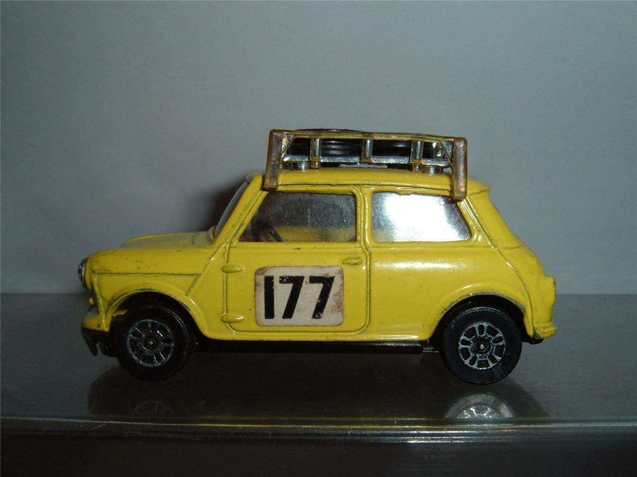 CORGI BMC MINI COOPER S 177 MONTE CARLO RALLYE CAR SCROLL DOWN FOR THE PHOTOS