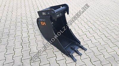Tieflöffel Baggerlöffel Schaufel Für Minibagger Ms 08 400 Mm 40 Cm 5 Bis 9 T Hitze Und Durst Lindern. Löffel & Schaufeln Baumaschinenteile & Zubehör