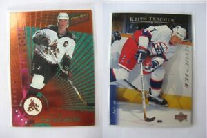 1997-98 Pacific Dynagon #98 Tkachuk Keith  copper  coyotes