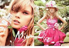 PUBLICITE ADVERTISING  046  2010  Dior  eau de toilette  (2p) Miss Chérie