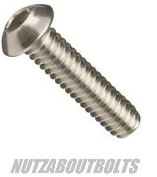 m3/4/5/6/8mm stainless steel socket button/dome head allen bolts/screws ISO7380