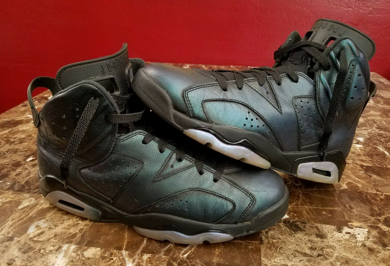 Air Jordan 6 VI Retro All Star Chameleon Uomo sz 10.5 Basketball Shoes   da Ginnastica
