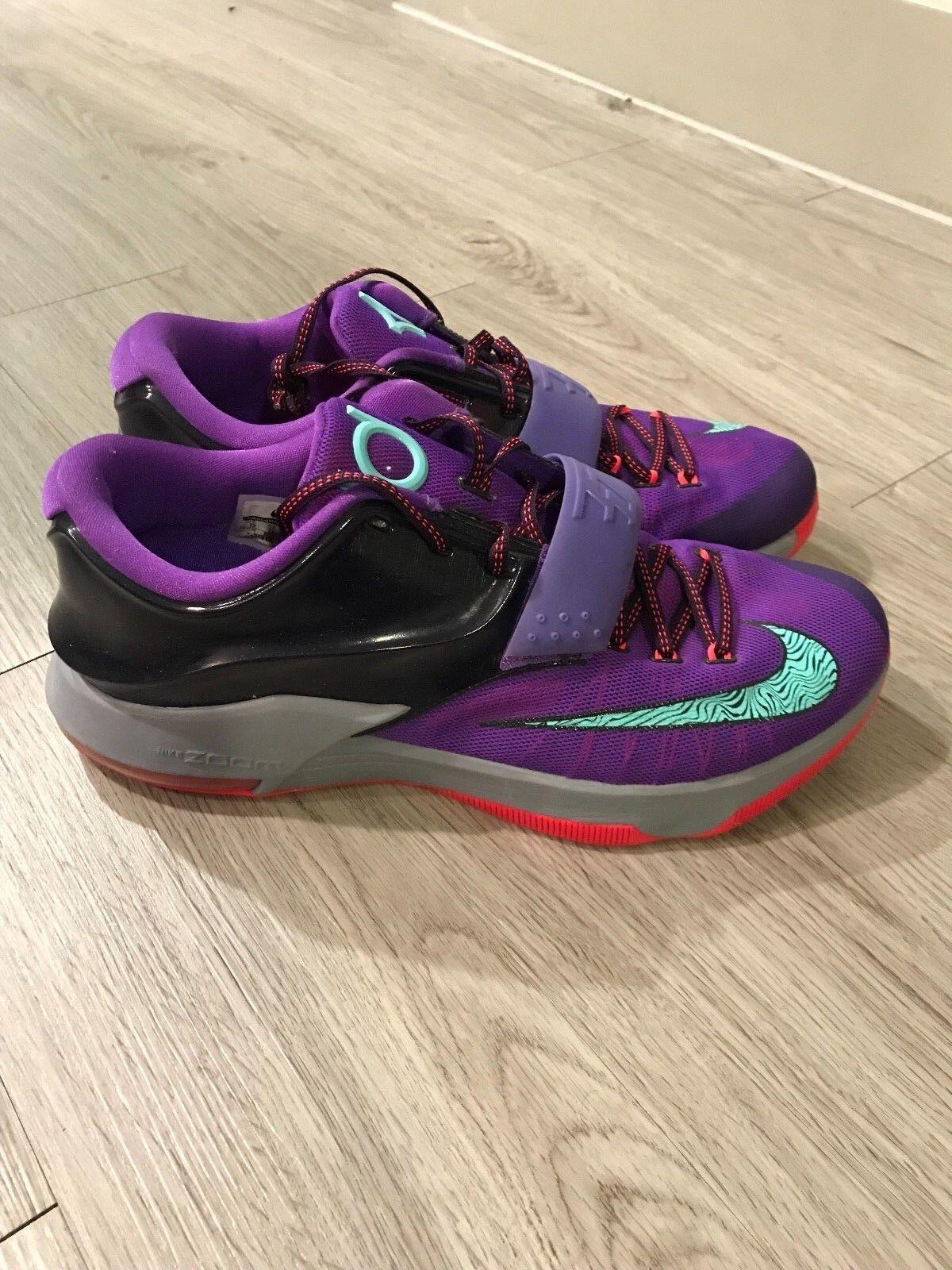 Men's Nike KD 7 Cave Purple Size 13