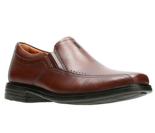 Clarks Men/'s 26128692 Unsheridan Go Brown Leather Unstructured Dress Shoes