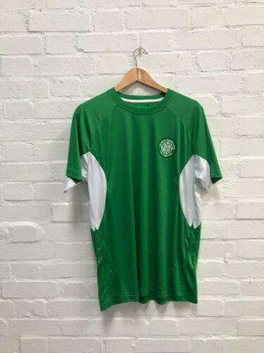 Neuf Celtic FC Officiel Club des hommes de Poly T-Shirt-Large-Vert