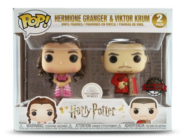 Funko POP! Harry Potter - (2-Pack) Hermione Granger & Viktor Krum Exclusive