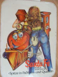 Aufkleber-Santa-Fe-Jeans-amp-Sportwear