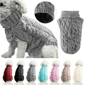 Small-Dog-Knitted-Jacket-Sweater-Pet-Puppy-Cat-Coat-Clothes-Warm-Costume-Apparel