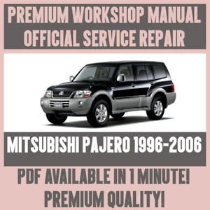 WORKSHOP-MANUAL-SERVICE-amp-REPAIR-GUIDE-for-MITSUBISHI-PAJERO-1996-2006