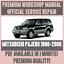 WORKSHOP-MANUAL-SERVICE-amp-REPAIR-GUIDE-for-MITSUBISHI-PAJERO-1996-2006 thumbnail 1