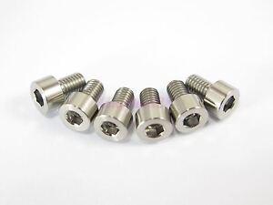 M6 x 35mm Titanium Ti Bolt Hex Socket Cap Head Allen Key Screw GR5-2//6//10pcs