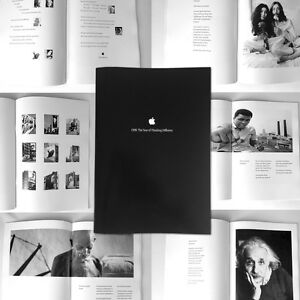 Apple-Poster-Buch-1998-The-Year-of-Thinking-Different-Steve-Jobs-REPRINT