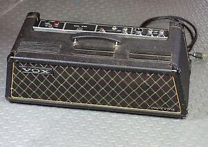 vox westminster v1182 solid state bass guitar amp amplifier head ebay. Black Bedroom Furniture Sets. Home Design Ideas