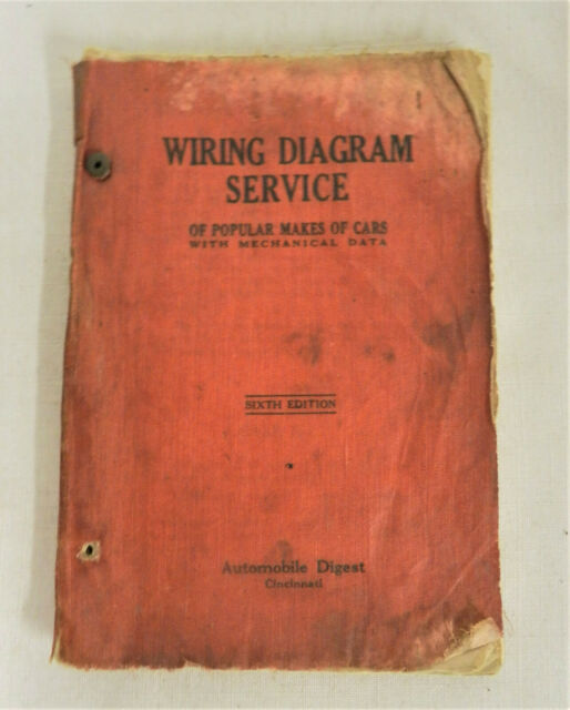 1929   Wiring Diagram Service Car Automoble Digest