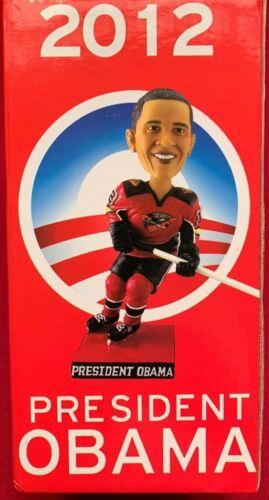 2012 Cincinnati Cyclones President Barack Obama Bobblehead RARE Only 2,000 NEW