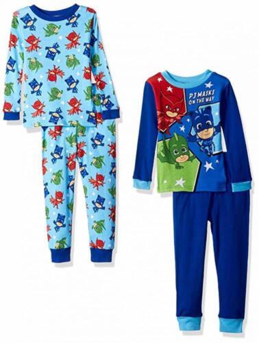 PJ Masks Toddler Boys On The Way 4pc Pajama Pant Set Size 2T 3T 4T $44