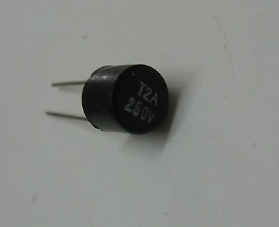 Set of 10 fusible microfuse TR5 T2A 250V time-delay